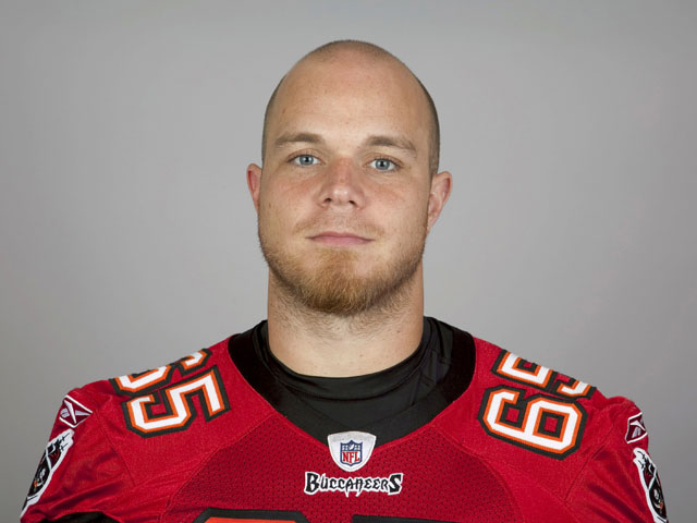 Jeremy Trueblood of the Tampa Bay Buccaneers poses for his NFL headshot circa 2011