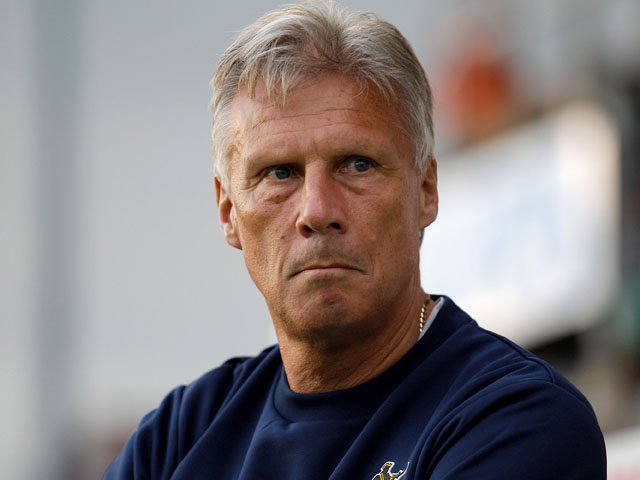 Bristol Rovers manager John Ward looks on prior to the Capital One Cup first round match between Bristol Rovers and Watford at the Memorial Stadium on August 6, 2013