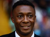 Chris Kiwomya, manager of Notts County looks on during the Sky Bet League One match between Sheffield United and Notts County at Bramall Lane on August 02, 2013