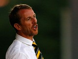 Manager Gary Rowett of Burton Albion shouts instructions during the Capital One Cup Second Round match between Burton Albion and Fulham at the Pirelli Stadium on August 27, 2013