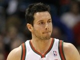 Former Orlando Magic player JJ Redick in action on April 25, 2013