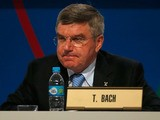 IOC Executive Committee Member Thomas Bach looks on during the 125th IOC Session - IOC Presidential Election at the Hilton Hotel on on September 10, 2013