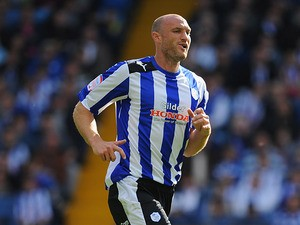 Sheffield Wednesday's Martin Taylor in action against Bolton on September 22, 2012