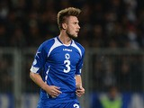 Bosnia-Herzegovina's Ermin Bicakcic in action against Slovakia during their World Cup qualifier on September 10, 2013