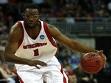 Marcus Landry playing college basketball on March 20, 2008