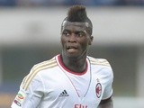 AC Milan striker M'Baye Niang in action against Verona on August 24, 2013