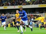 Chesterfield's Tendayi Darikwa chases after the ball during the game with Oxford United on September 21, 2013