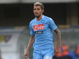 Napoli's Valon Behrami in action against Chievo Verona during their Serie A match on August 31, 2013