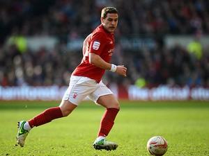 Nottingham Forest's Billy Sharp in action against Bolton on February 16, 2013