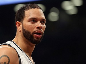Brooklyn Nets' Deron Williams in action during the game against Chicago Bulls on April 29, 2013