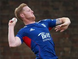 Ben Stokes of England in action during a net session ahead of the third NatWest One Day International Series match between England and Australia at Edgbaston on September 10, 2013