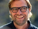Dortmund's head coach Jürgen Klopp gives interviews prior to the German first division Bundesliga football match Borussia Dortmund vs SC Freiburg in Dortmund, Germany, on September 28, 2013