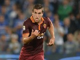 Kevin Strootman of AS Roma in action during the Serie A match between UC Sampdoria and AS Roma at Stadio Luigi Ferraris on September 25, 2013