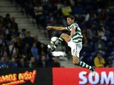 Sporting's Dutch defender Khalid Boulahrouz controls the ball during the Portuguese League football match Porto vs Sporting on October 7, 2012