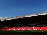 General view of the stadium before the Barclays Premier League match between Manchester United and West Bromwich Albion at Old Trafford on September 28, 2013