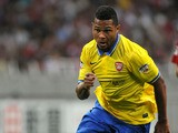 Serge Gnabry #30 of Arsenal in action during the pre-season friendly match between Urawa Red Diamonds and Arsenal at Saitama Stadium on July 26, 2013