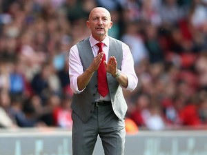 Manager Ian Holloway of Crystal Palace looks on during the Barclays Premier League match between Southampton and Crystal Palace at St Mary's Stadium on September 28, 2013