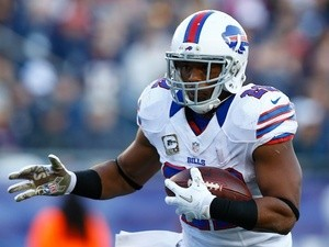 Bills' Fred Jackson in action on November 12, 2012