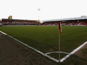 A general view of Brentford's Griffin Park in March 2012.