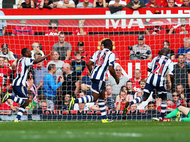 Result: West Bromwich Albion stun Manchester United ...