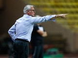 Monaco coach Claudio Ranieri during his team's Ligue 1 match against Toulouse on August 23, 2013
