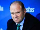 Real Betis coach Pepe Mel observes from the bench against Espanyol on September 1, 2013