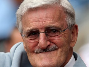 Jimmy Hill in the stands during the match between Coventry City and West Brom on July 31, 2010
