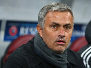 Chelsea manager Jose Mourinho during the Champions League group match against Steaua Bucuresti on October 1, 2013