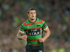 Luke Burgess of the Rabbitohs in action during the NRL Preliminary Final match between the South Sydney Rabbitohs and the Manly Warringah Sea Eagles at ANZ Stadium on September 27, 2013