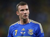 Ukrainian forward Andriy Shevchenko after the Euro 2012 football championships match England vs Ukraine at the Donbass Arena in Donetsk. Striker Shevchenko on July 28, 2012