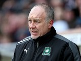Plymouth Argyle assistant manager Gary Owers looks on during the npower League Two match between Northampton Town and Plymouth Argyle at Sixfields Stadium on February 23, 2013
