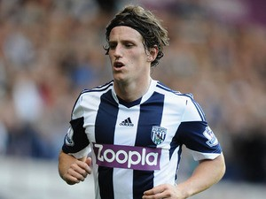 Billy Jones of West Bromwich Albion during the Barclays Premier League match between West Bromwich Albion and Sunderland at The Hawthorns on September 21, 2013
