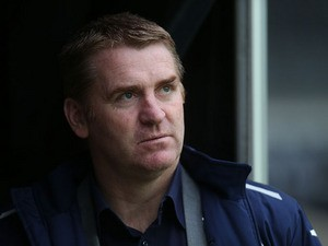 Walsall manager Dean Smith looks on prior to the npower League One match between Milton Keynes Dons and Walsall at Stadium mk on December 26, 2012