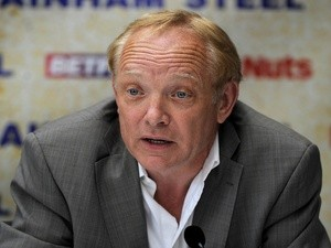 Frank Maloney of Frank Maloney Promotions talks during the Boxnation Press Conference on June 26, 2013