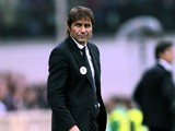 Juventus head coach Antonio Conte shows his dejection during the Serie A match between ACF Fiorentina and Juventus at Stadio Artemio Franchi on October 20, 2013