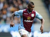 Leandro Bacuna of Aston Villa during the Barclays Premier League match between Hull City and Aston Villa at KC Stadium on October 5, 2013