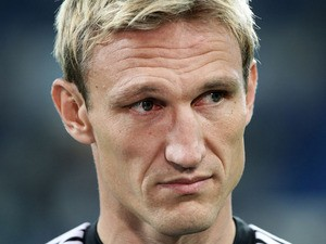 Leverkusen's coach Sami Hyypia is seen prior to the German first division Bundesliga football match TSG 1899 Hoffenheim vs Bayer 04 Leverkusen in Sinsheim, Germany, on October 18, 2013