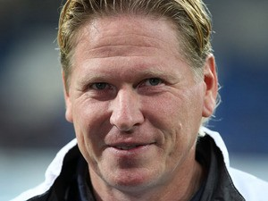 Hoffenheim's coach Markus Gisdol is seen prior to the German first division Bundesliga football match TSG 1899 Hoffenheim vs Bayer 04 Leverkusen in Sinsheim, Germany, on October 18, 2013