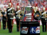 A shot of the FA Cup on May 5, 2012