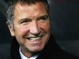 Graeme Souness breaking into a rare grin on May 4, 2005