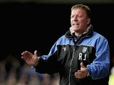 Gillingham manager Ronnie Jepson during the match against Southend on April 14, 2006