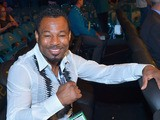 Professional boxer Shane Mosley attends the Floyd Mayweather Jr. vs. Canelo Alvarez boxing match at the MGM Grand Garden Arena on September 14, 2013