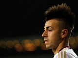 Stephan El Shaarawy of AC Milan looks on during the UEFA Champions League Play-off First Leg match between PSV Eindhoven and AC Milan at PSV Stadion on August 20, 2013