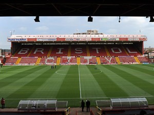 A general view of Ashton Gate the home of Bristol City on July 30, 2011