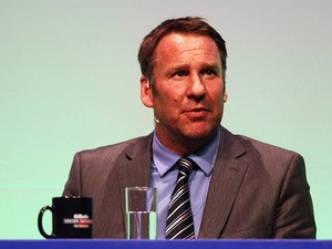 Paul Merson answers questions during Gillette Soccer Saturday Live in Bournemouth on March 19, 2012