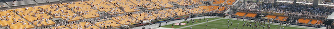 General view of Heinz Field before the game between the Pittsburgh Steelers and the Oakland Raiders on September 12, 2004