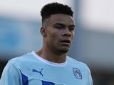 Jordan Willis of Coventry City in action during the Sky Bet League One match between Coventry City and Sheffield United at Sixfields Stadium on October 13, 2013