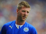 Paul Gallagher of Leicester in action during the the pre season friendly match between Leicester City and Monaco at The King Power Stadium on July 27, 2013