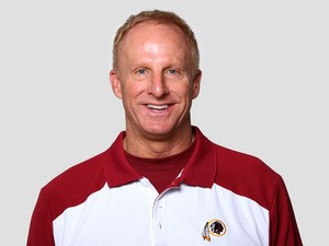 Jim Haslett of the Washington Redskins poses for his NFL headshot circa 2011