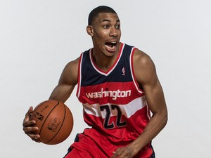 Otto Porter of the Washington Wizards poses for a portrait during the 2013 NBA rookie photo shoot at the MSG Training Center on August 6, 2013